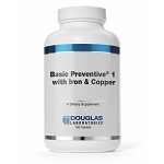 BASIC PREVENTIVE ® 1(PLUS IRON AND COPPER) - 180 TABLETS