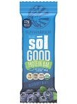 SOL GOOD PROTEIN BAR BLUEBERRY 12 BARS