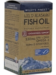 WILD AK FISH OIL CHOL SUPP 90 SOFTGELS