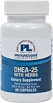 DHEA-25 WITH HERBS 60 CAPSULES