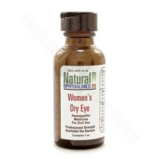 WOMEN'S DRY EYE PELLETS/ORAL HOMEOPATHIC 1oz