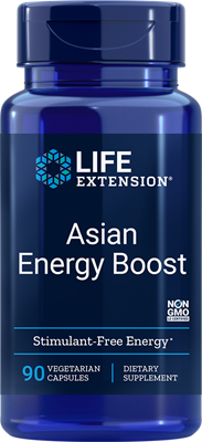 ASIAN ENERGY BOOST - 90 Vegetarian Capsules