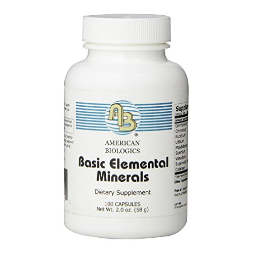BASIC ELEMENTAL MINERALS 100C