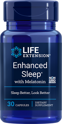 ENHANCED SLEEP® WITH MELATONIN - 30 Capsules
