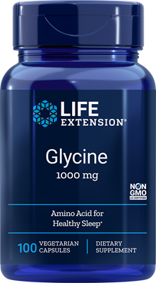 GLYCINE (1000 mg) - 100 Vegetarian Capsules