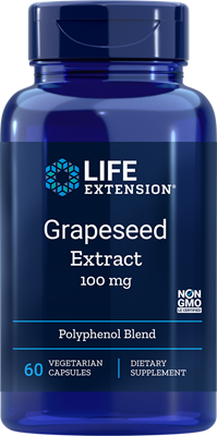 GRAPESEED EXTRACT (100 mg) - 60 Vegetarian Capsules