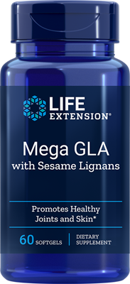 MEGA GLA WITH SESAME LIGNANS - 30 Softgels