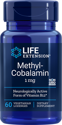 METHYLCOBALAMIN (1 mg) - 60 Vegetarian Lozenges