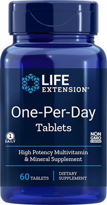 ONE-PER-DAY TABLETS - 60 Tablets