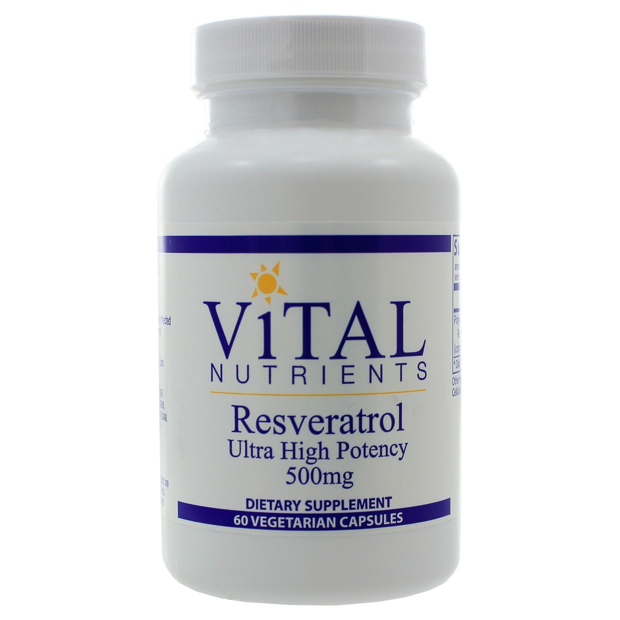 Resveratrol 500mg 60 Capsules 9351