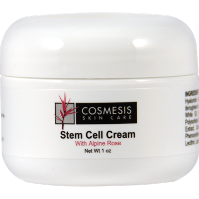 STEM CELL CREAM WITH ALPINE ROSE - 1 OZ