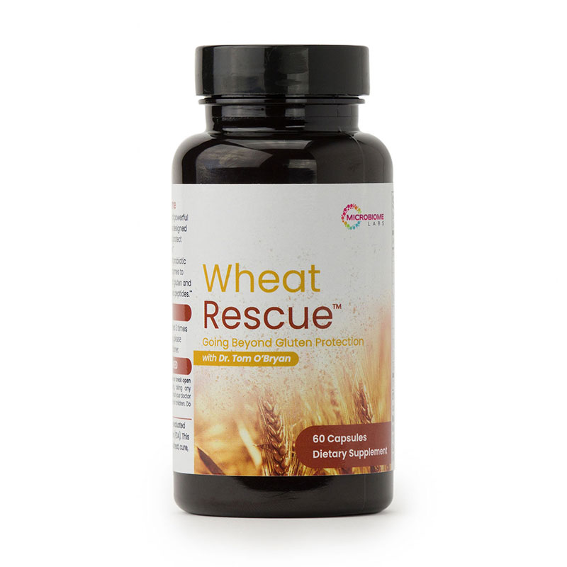WHEAT RESCUE - 60 Capsules-Ready To Ship