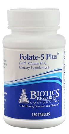 FOLATE-5 PLUS WITH  B12 -- 120 TABLETS