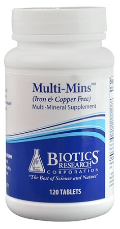 MULTI-MINS IRON & COPPER FREE -- 120 TABLETS