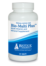 BIO-MULTI PLUS IRON & COPPER FREE -- 270 TABLETS