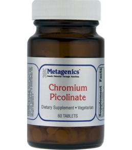 CHROMIUM PICOLINATE -60 TABLETS