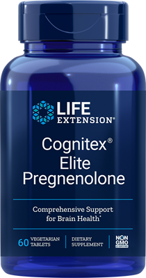 COGNITEX®  ELITE WITH PREGNENOLONE - 60 Vegetarian Tablets