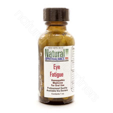 EYE STRAIN-FATIGUE PELLETS/ORAL HOMEOPATHIC 1oz