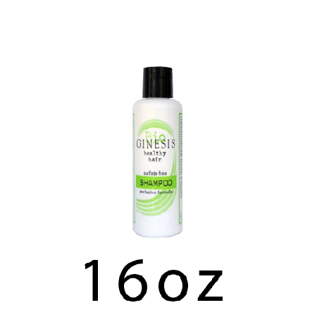 GINESIS NATURAL SHAMPOO-16 ounces natural shampoo (green label)