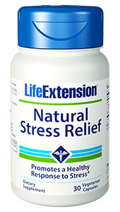 NATURAL STRESS RELIEF - 30 Vegetarian Capsules - DISCONTINUED