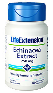 ECHINACEA EXTRACT (250 mg) - 60 Vegetarian Capsules - DISCONTINUED
