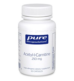 ACETYL-L-CARNITINE 250 MG-60 capsules