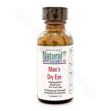 MEN'S DRY EYE PELLETS/ORAL HOMEOPATHIC 1oz