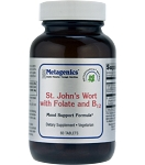 ST JOHN'S WORT WITH FOLATE & B12-60 TABLETS