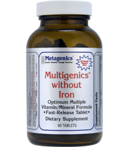 MULTIGENICS® WITHOUT IRON-90 Tablets