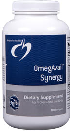 OMEGAVAIL™ SYNERGY 180 SOFTGELS with lipase