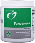 PALEOGREENS™ ORGANIC 270G POWDER - MINT FLAVOR - DISCONTINUED