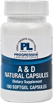 A & D Natural-100 SOFTGELS