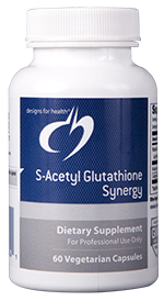 S-ACETYL GLUTATHIONE SYNERGY 60 CAPSULES