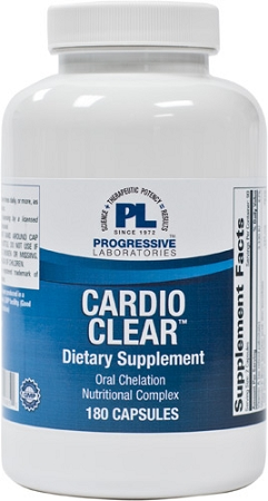 CARDIO CLEAR (without EDTA) 180  CAPSULES