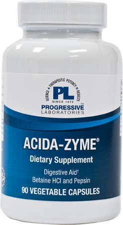 ACIDA-ZYME-90 VEGETABLE CAPSULES