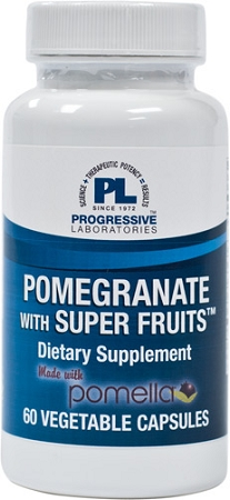 POMEGRANATE WITH SUPER FRUITS 60 VEGETABLE CAPSULES