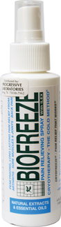 BIO FREEZE WITH ILEX (SPRAY) 4OZ