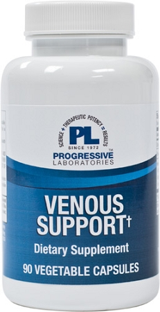 VENOUS SUPPORT 90 VEGETABLE CAPSULES