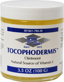 TOCOPHODERMIS 3.5 OZ. (100 GRAMS)
