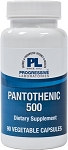 PANTOTHENIC 500  90 VEGETABLE CAPSULES