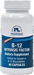 B-12 INTRINSIC FACTOR 60 CAPSULES