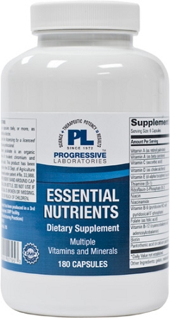 ESSENTIAL NUTRIENTS 180 CAPSULES