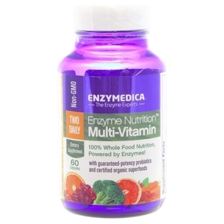 ENZYME NUTRTION TWO DAILY 60 CAPSULES