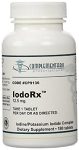 IodoRx 12.5mg 180 tablets-Iodoral Replacement
