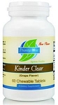 KINDER CLEAR - (PEACH FLAVORED) - 60 CHEWABLE TABLETS