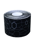KINESIOLOGY TAPE BLACK/GRAY 1 ROLL