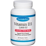 Vitamin D3 Mixed Berry 5000 IU (90 Chews)