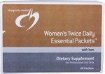 WOMEN'S TWICE DAILY ESSENTIAL PACKETS™ (WITH IRON)