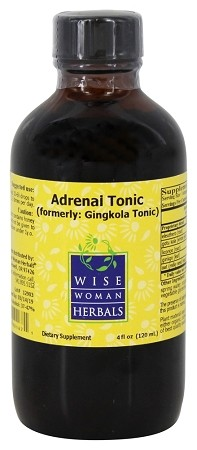 ADRENAL TONIC (FORMERLY GINGKOLA TONIC) 4OZ