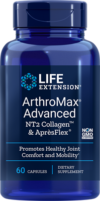 ARTHROMAX® ADVANCED WITH NT2 COLLAGEN & APRÈSFLEX® - 60 Capsules